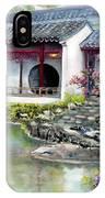 Spring In Dr. Sun Yat-sen Gardens IPhone Case