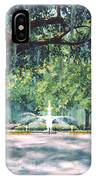 Spring In Forsythe Park IPhone Case