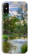 Spring In Harmon Park IPhone X Case