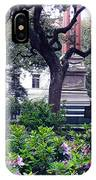 Spring In The Square IPhone Case
