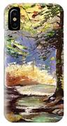 Spring In Woods IPhone Case