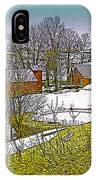 Spring Melt At Jenne Farm IPhone Case