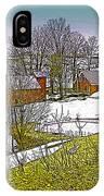 Spring Melt At Jenne Farm IPhone Case