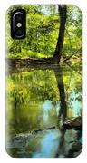 Spring Mill Reflections IPhone Case