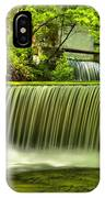 Spring Mill Spillway IPhone Case