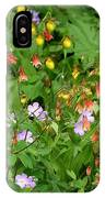 Spring On The Forest Floor IPhone Case