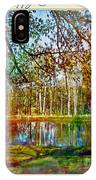 Spring Pond Photoart Father's Day IPhone Case