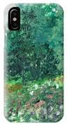 Spring Rain IPhone X Case