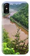 Spring Rains Comes To The New River IPhone Case