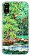 Spring Rapids On The New River IPhone Case