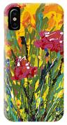 Spring Tulips Triptych Panel 3 IPhone Case