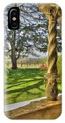 Spring Vineyards IPhone Case