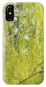 Spring Weeping Willow IPhone Case