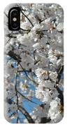 Spring White IPhone Case