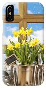 Spring Window IPhone Case