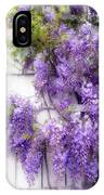 Spring Wisteria IPhone Case