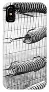 Springs On The Fence IPhone Case