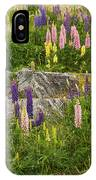 Springtime At Lake Tekapo IPhone Case