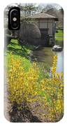 Springtime At The Japanese Gardens IPhone Case