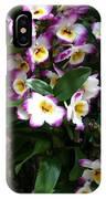 Springtime Flowers At Biltmore Estate IPhone Case