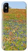 Springtime In Texas 5 IPhone Case