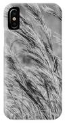 Springtime In The Field - Bw IPhone Case