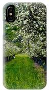 Springtime In The Orchard IPhone Case