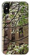 Springtime In Washington Heights 2 IPhone Case
