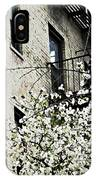 Springtime In Washington Heights IPhone Case