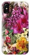 Springtime In Zebulon Left IPhone Case