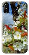 Springtime Pear Blossoms - Hello Spring IPhone Case