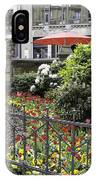 Springtime Tulips In Cologne Germany IPhone Case