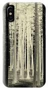 Spruce Magic IPhone Case