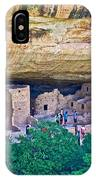 Spruce Tree House On Chapin Mesa In Mesa Verde National Park-colorado  IPhone Case