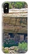 Spruce Tree House Pueblo On Chapin Mesa In Mesa Verde National Park-colorado IPhone Case