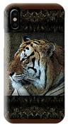Sq Tiger Profile 6k X 6k Bboo Matt IPhone Case