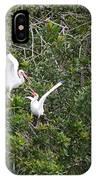 Squabbling Birds IPhone Case
