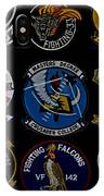 Squadron Patch Collage IPhone Case