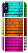 Squared Color Wall  IPhone Case