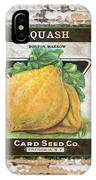 Squash On Vintage Tin IPhone Case