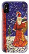 Squiggle Christmas IPhone Case