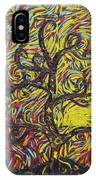 Squiggling In The Wind IPhone Case