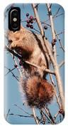 Squirrel Berry IPhone Case