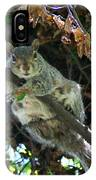 Squirrel By Nest IPhone Case