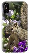 Squirrel In The Botanic Garden-dallas Arboretum V2 IPhone Case