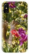 Squirrel In The Botanic Garden-dallas Arboretum V5 IPhone Case
