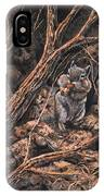 Squirrel-ly IPhone Case
