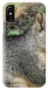 Squirrel Thief IPhone Case