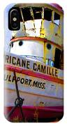 Ss Hurricane Camille Tugboat IPhone Case