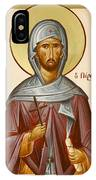 St Anastasios The Persian IPhone Case